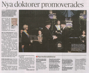 Degree honoris causa